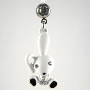 piercing zwanger wit konijn