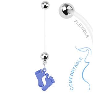 zwangerschapspiercing-baby-voetjes-blauw