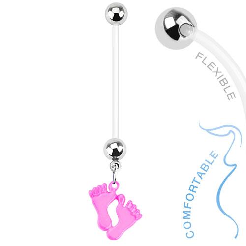 zwangerschapspiercing-baby-voetjes-roze
